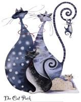 The Cat Pack Catitudes Fine Art Print