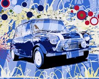 Vintage Mini Cooper Fine Art Print