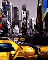 Rush Hour on Broadway Fine Art Print