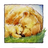 Mother Bear's Love II Fine Art Print