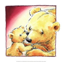Mother Bear's Love III Fine Art Print