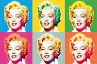 Visions of Marilyn Wall Poster