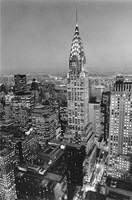New York, New York, Chrysler Building at Night Wall Poster