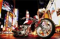 Midnight Rider Wall Poster