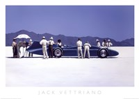 Bluebird at Bonneville Fine Art Print
