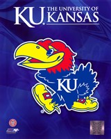 2009 University of Kansas Jayhawks Logo Framed Print