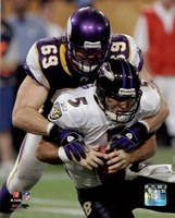 Jared Allen 2009 Action Fine Art Print