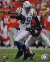 Antonio Gates 2009 Action Fine Art Print