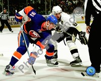 John Tavares & Sidney Crosby 2009-10 Action Framed Print