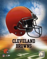 2009 Cleveland Browns Team Logo Fine Art Print