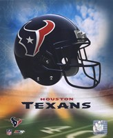 2009 Houston Texans Team Logo Fine Art Print