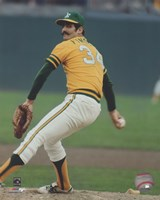 Rollie Fingers Action Fine Art Print