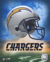 2009 San Diego Chargers logo Framed Print