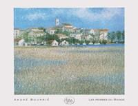 Les Herbes Du Rivage Fine Art Print