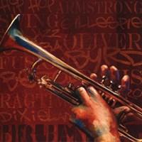 Jazz III Framed Print