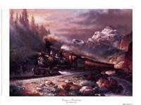 Canyon Railway Fine Art Print