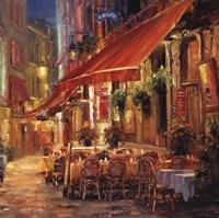Cafe in Light Fine Art Print
