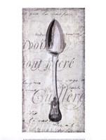 Decoative Spoon Framed Print