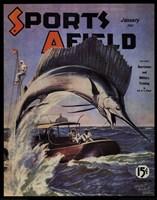 Sports Afield - January, 1941 Fine Art Print