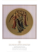 Angels Playing Musical Instruments, (The Vatican Collection) Fine Art Print