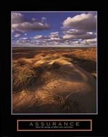 Assurance - Sand Dunes Framed Print