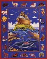 Noah's Ark Numbers Fine Art Print