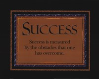 Success quote Fine Art Print