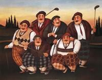 Golf Club Fine Art Print