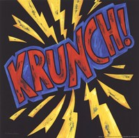 Krunch Framed Print