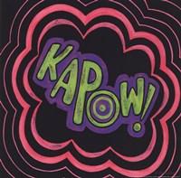 Kapow Fine Art Print