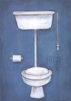 Toilet Framed Print