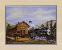 Pine Valley Station Fine Art Print