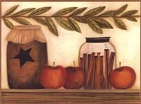 Cinnamon Spice Framed Print