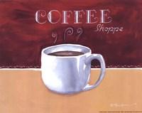 Coffee Shoppe Fine Art Print