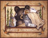 Bear Necessities Framed Print