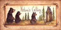 Nature's Calling Framed Print