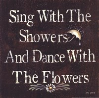 Showers and Flowers Fine Art Print