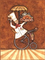 Fruits de Mer Chef Fine Art Print