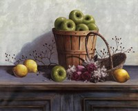 Green Apples and Lemons Fine Art Print