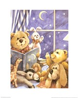 Teddy Bear Storytime Framed Print
