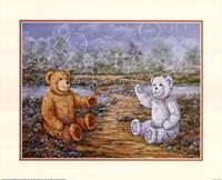 Bubble Bears Fine Art Print