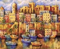 Boat Harbor II Fine Art Print