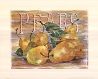 Fruit Stand Pears Framed Print