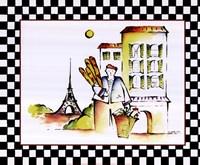 Baguette Framed Print