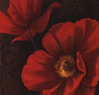 Rouge Poppies II Fine Art Print