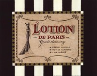 Lotion Label Fine Art Print