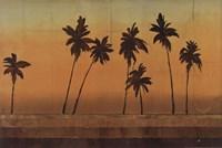 Sunset Palms I - CS Fine Art Print