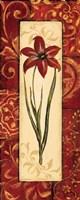 Vintage Crimson I Fine Art Print