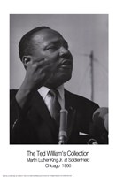 MLK Speech Framed Print