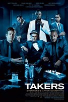 Takers - style A Framed Print